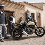 Rentar una Ducati Scrambler Barcelona