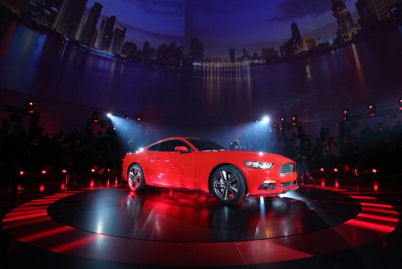 El nuevo modelo Mustang de Ford