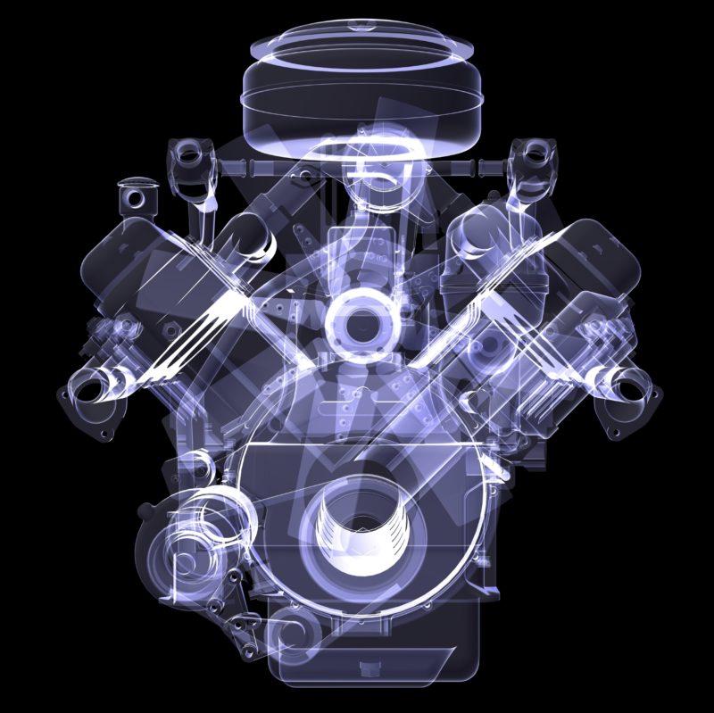 motor diesel en los automotores