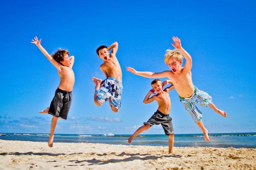 unas vacaciones para los niños