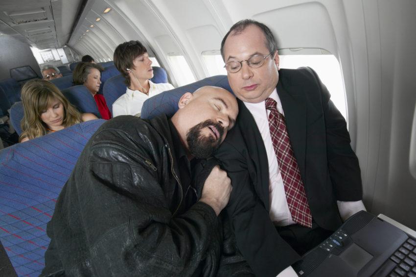 Aunque existen momentos incómodos en los vuelos