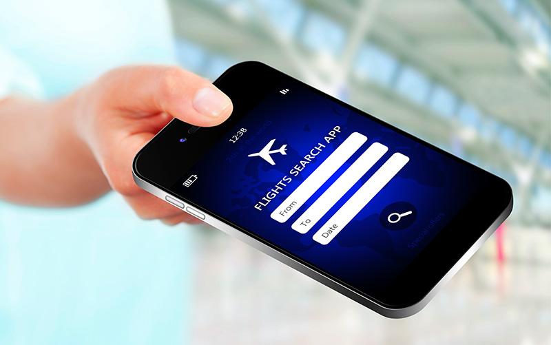 Cómo encontrar vuelos baratos con tu móvil