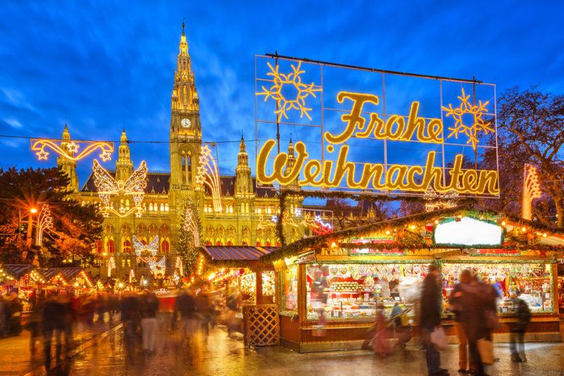 Disfruta del espíritu navideño en Viena