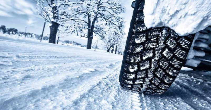 Neumáticos de invierno.