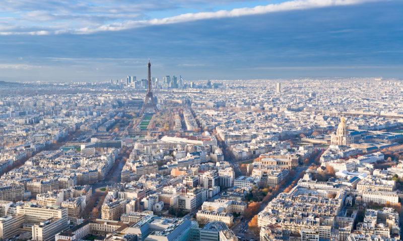 Paris puente de diciembre
