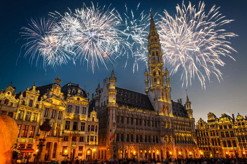 Vacaciones de Nochevieja en Bruselas