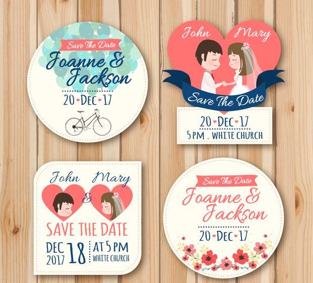 Etiquetas boda personalizables