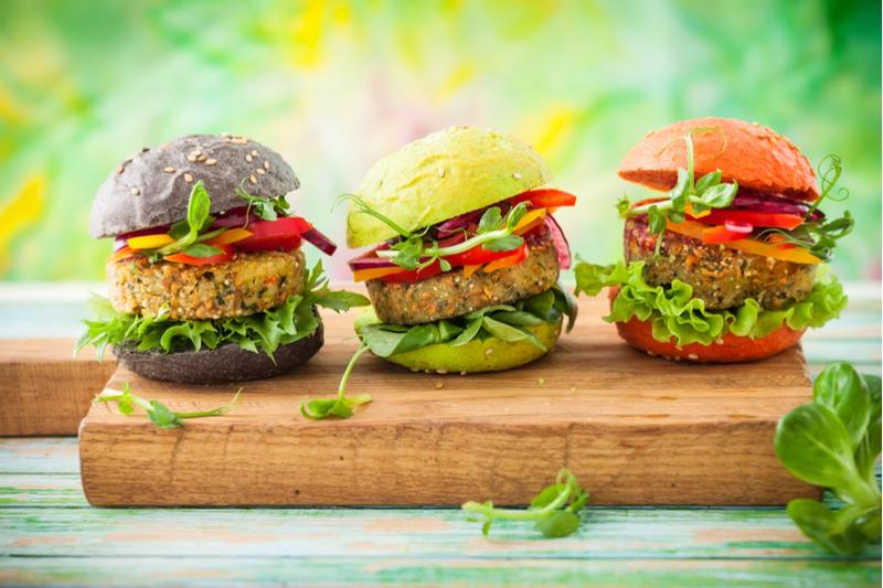 Hamburguesa vegana