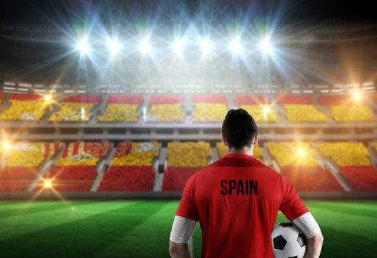 Jugador futbol España