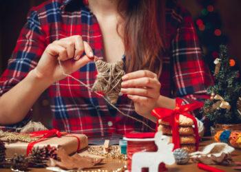 La mejor decoración navideña hecha a mano